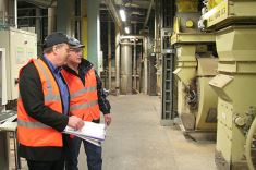 Safety audit in de fabriek